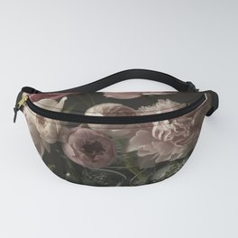 Peony and Rose Dark Duet Fanny Pack