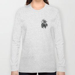 black flowers Long Sleeve T-shirt