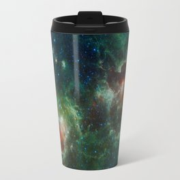 Hubble Space Photograph - Heart and Soul Nebulae Travel Mug