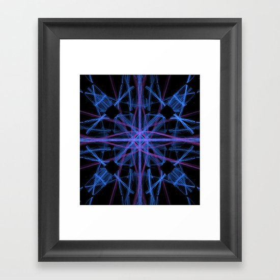 Crossing Currents Framed Art Print