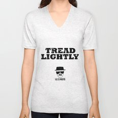 Breaking Bad - Tread Lightly - Heisenberg Unisex V-Neck