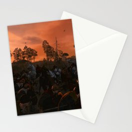 Ancient Warriors Stationery Cards