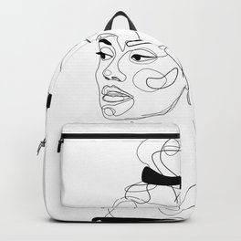 B&W Sketch Backpack