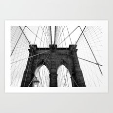 Brooklyn Web II Art Print
