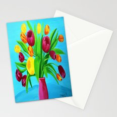 Tulips for Easter Stationery Cards