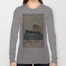 Vintage poster - Ireland Long Sleeve T-shirt