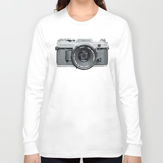 Vintage Camera Phone Long Sleeve T-shirt