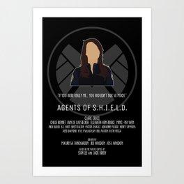 Agents of S.H.I.E.L.D. - May Art Print