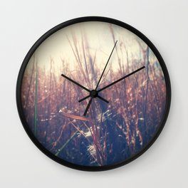 Clothed In Beauty.  Wall Clock