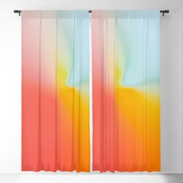 Abstract Gradient No. 12 Blackout Curtain