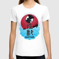 kaiju T-shirts featuring Kaiju Sake by zerobriant