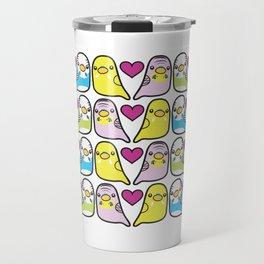 Budgie Love Travel Mug
