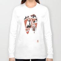 django Long Sleeve T-shirts featuring Django Unchained by Lechaftois Boris (LBö)