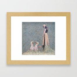 Gesneria christii Framed Art Print