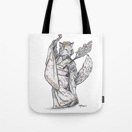 Tiny Dancer - Sakura Fox Tote Bag