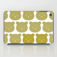 teddy bear iPad Cases featuring Teddy by ColourMoiChic