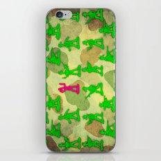 Little Green Army Unicorn iPhone & iPod Skin