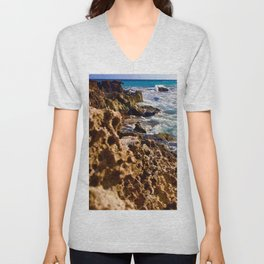 Tides of Cancún Unisex V-Neck