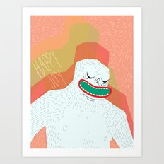 Your not yeti to believe right now Art Print