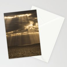 Golden rain Stationery Cards