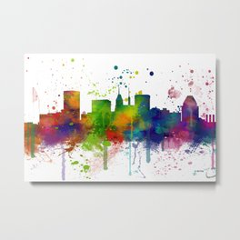 Baltimore Skyline Metal Print