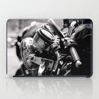 moto iPad Cases featuring moto by Farkas B. Szabina