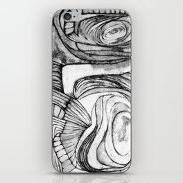 Onions (black and white) iPhone Skin