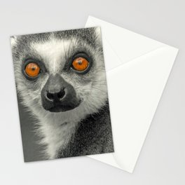 LEMUR PORTRAIT Stationery Cards