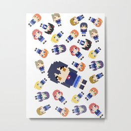 Pixel Umi Metal Print