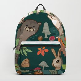 Animals In The Woods Backpack