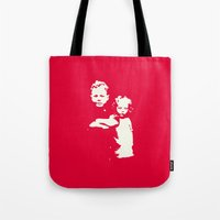 family Tote Bags featuring Family by JophenStein