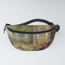"Antoine Watteau ""The pleasures of the ball (Les Plaisirs du bal)"" Fanny Pack"