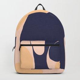 Abstraction_Organic_Shape_Minimalism_001 Backpack