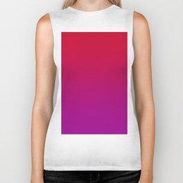 CONFESSIONS - Minimal Plain Soft Mood Color Blend Prints Biker Tank