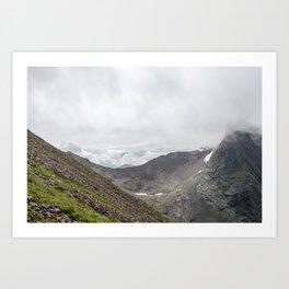 Ben Nevis Mountain Ridge Art Print