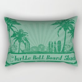 Turtle Roll Board Shack Rectangular Pillow