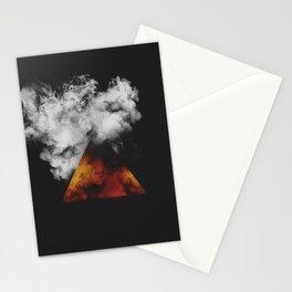 Triangle of Fire & Smoke Stationery Cards