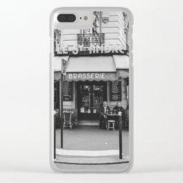 Brasserie Paris Clear iPhone Case