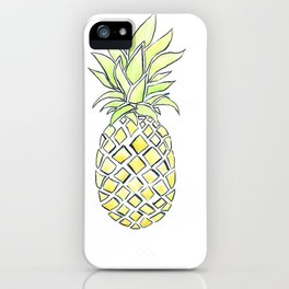 Pineapple Pop iPhone Case