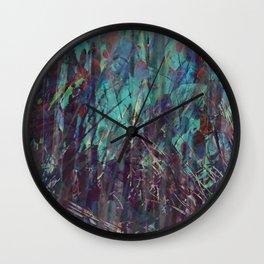 Leaf Me Be #6 Wall Clock