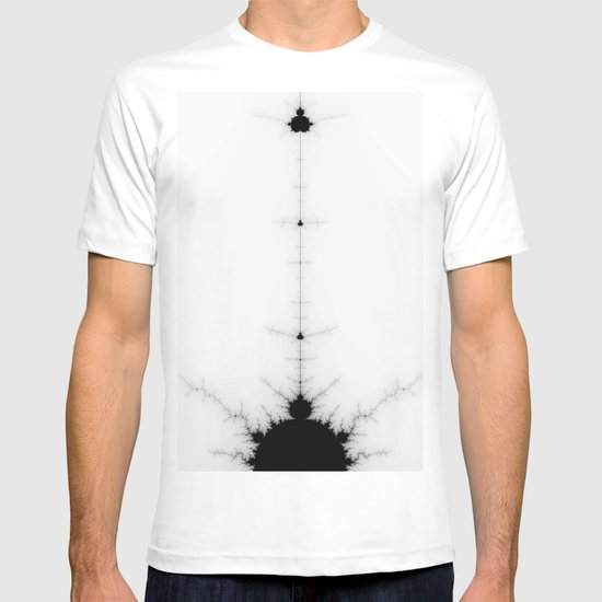 detail on mandelbrot set T-shirt