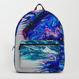 Cosmic Blue Thistle Backpack