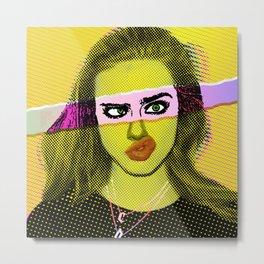 Pop Girl Metal Print