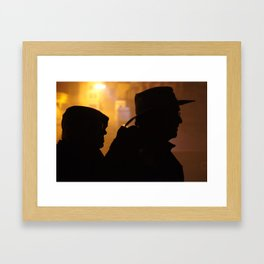 Search Party Framed Art Print