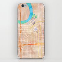 alabama iPhone & iPod Skins featuring Montgomery, Alabama by Emily Day