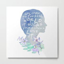 monica - welcome to the real world Metal Print