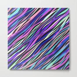 Noisy waves Metal Print