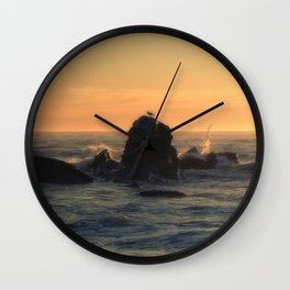 Brookings Sunset Wall Clock