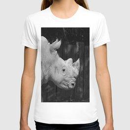 Rhino Portrait T-shirt