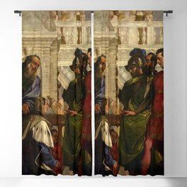 "Veronese (Paolo Caliari) ""The Family of Darius before Alexander"" Blackout Curtain"
